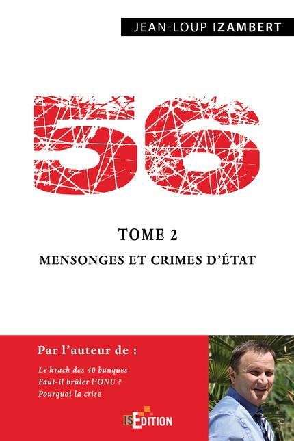 56 T2 Mensonges Et Crimes D Etat Jean Loup Izambert Ean13 9782368451236 Is Ebooks La Librairie De Is Edition